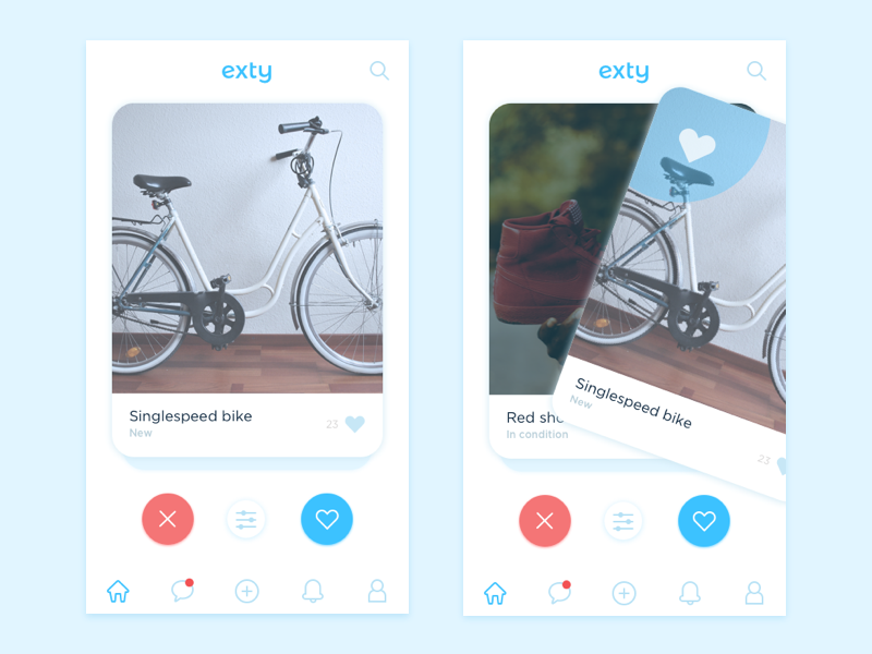 Like Tinder App   Tinder app design, Tinder app, App design
