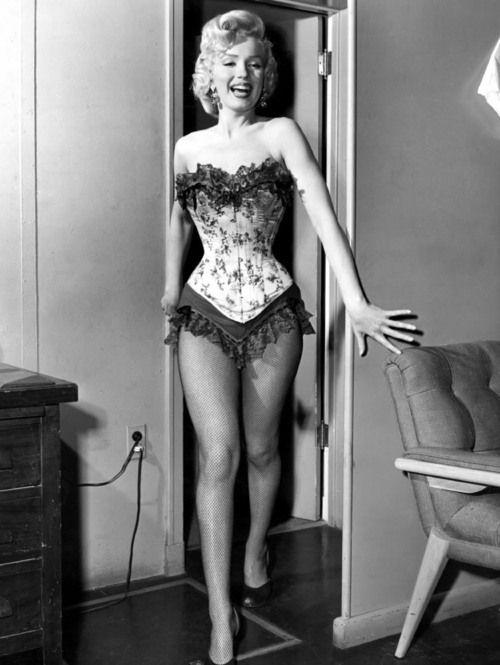 Marilyn Monroe Corset : marilyn, monroe, corset, Marilyn, Monroe, Corset, Frillies, Photos,, Monroe,