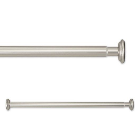 Source Global 52 To 90-Inch In Tension Rods, Pewter