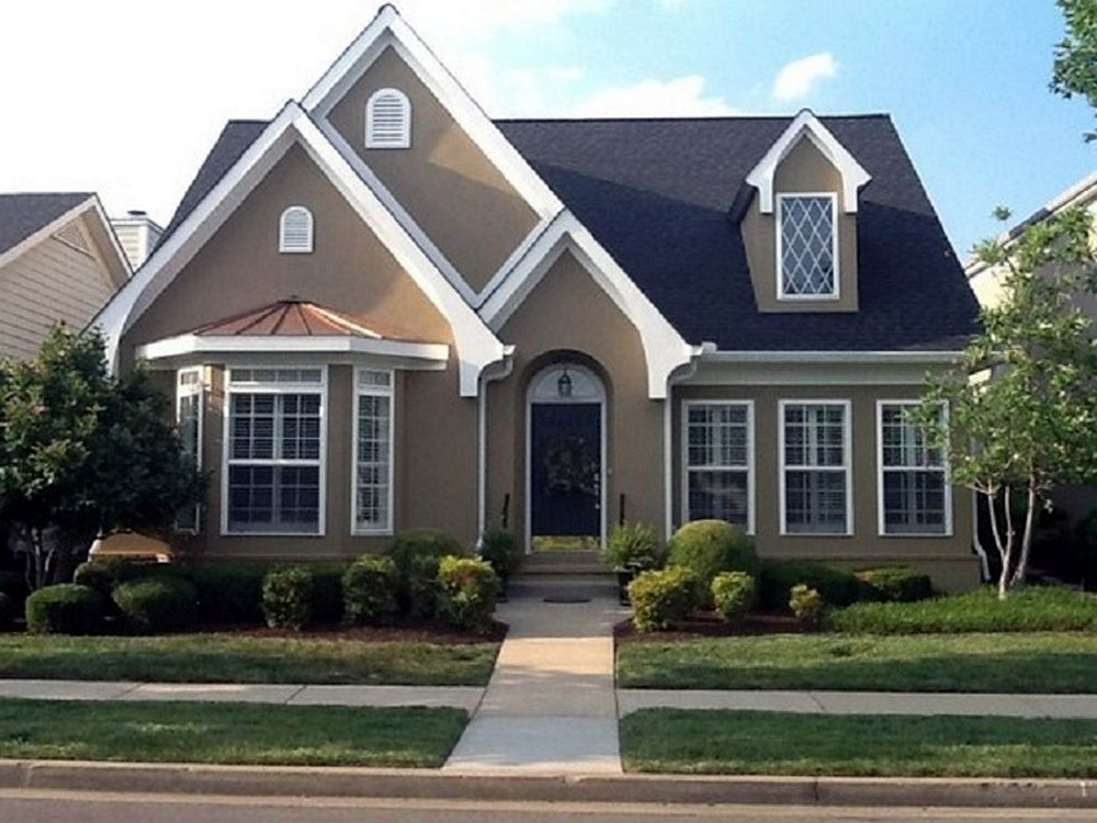 Here Are The Best Small House Colors You Aren T Limited To Light Exterior House Paint Color Combinations House Paint Exterior Exterior Paint Colors For House