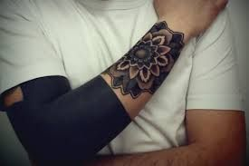 Image Result For Solid Black Hand Tattoo Sunflower Tattoos