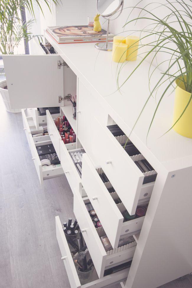 b564c78a5 Mi mueble de maquillaje y organización | Makeupzone.net | Tocador ...
