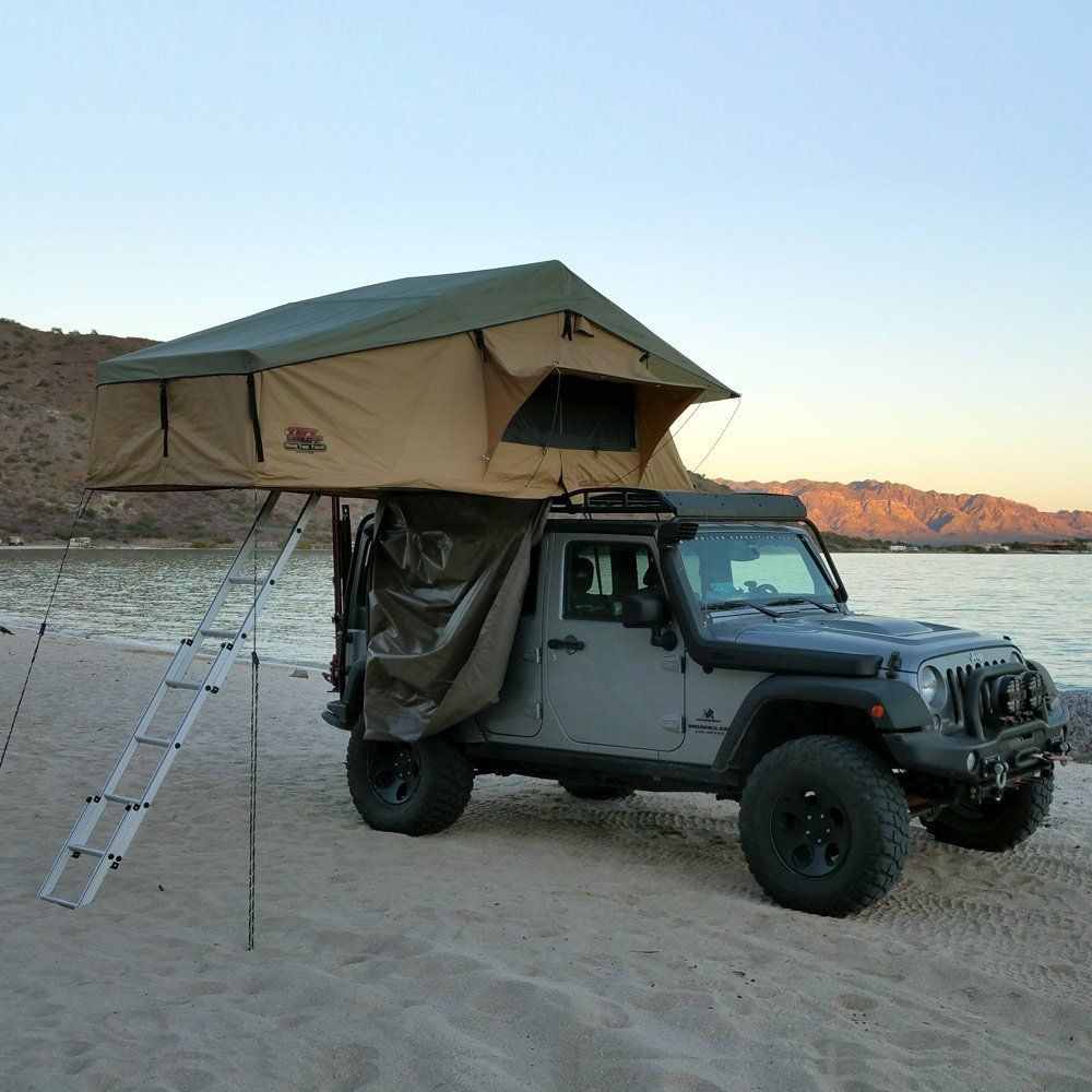 Tuff Stuff Overland Rooftop Camping Tent With Annex Room