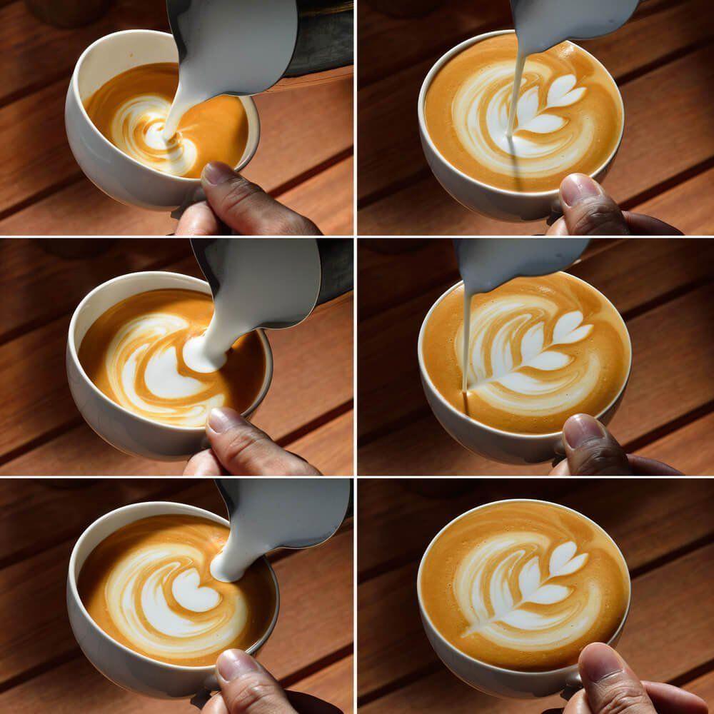 делать рисунок на кофе как поднял восстание