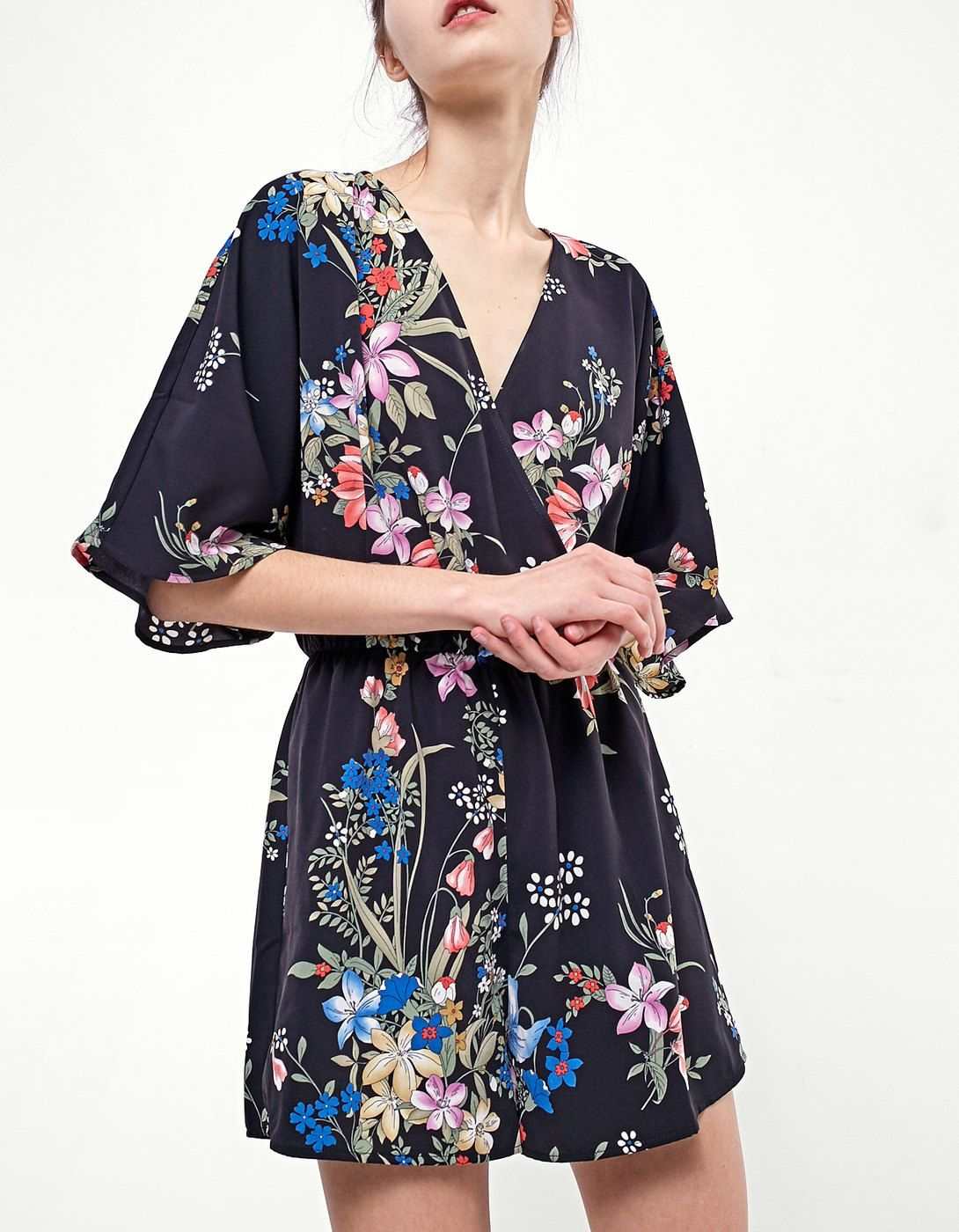 8aaec35f0ea At Stradivarius you ll find 1 Printed kimono jumpsuit for just 6995 Hungary  . Visit now to discover this and more Clothing.