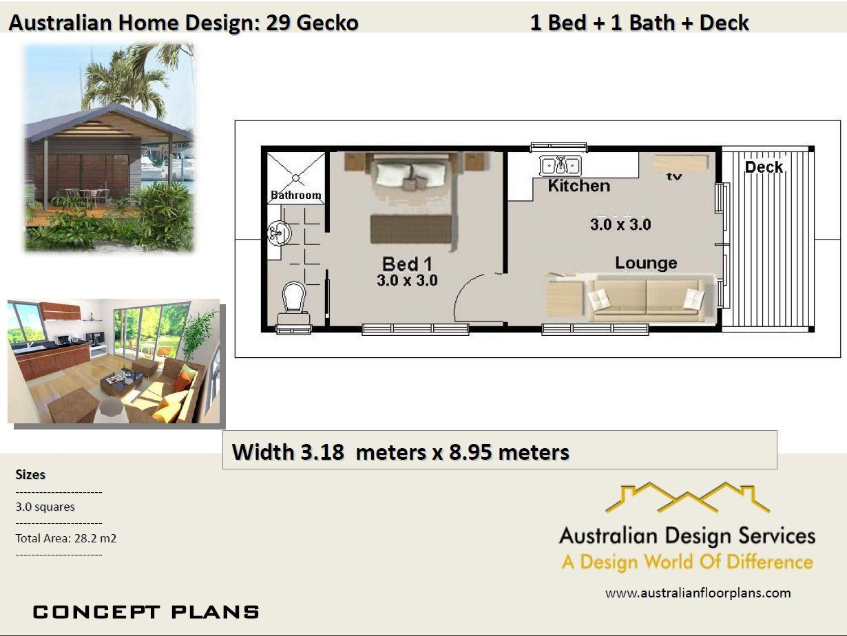 29 Gecko 29 M2 1 Bedroom Transportable Home Concept Small House Design House Plans For Sale House Design