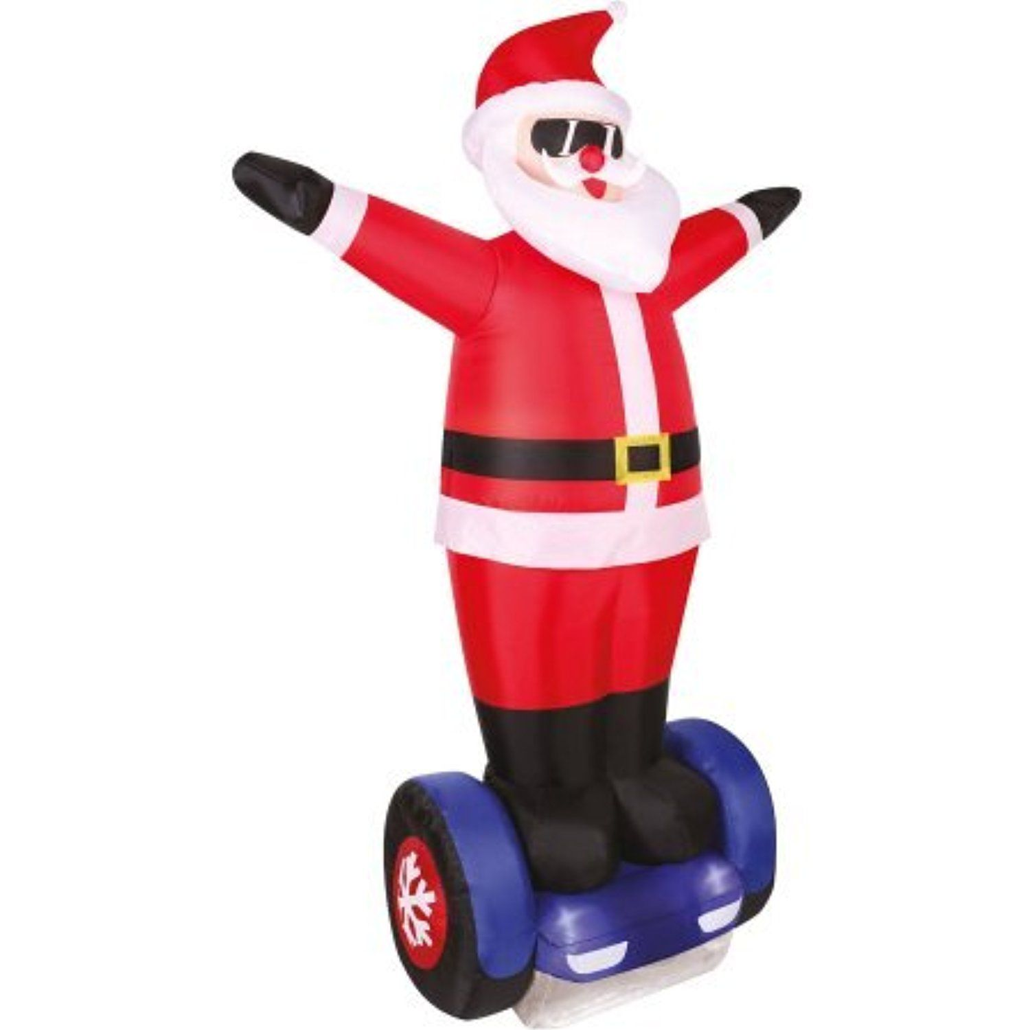 Light Up Inflatable Yard Decoration INFLATABLES CHRISTMAS 7\' Board ...