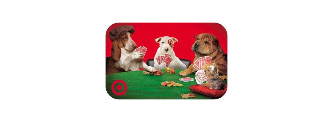 Puppies Playing Poker GiftCard