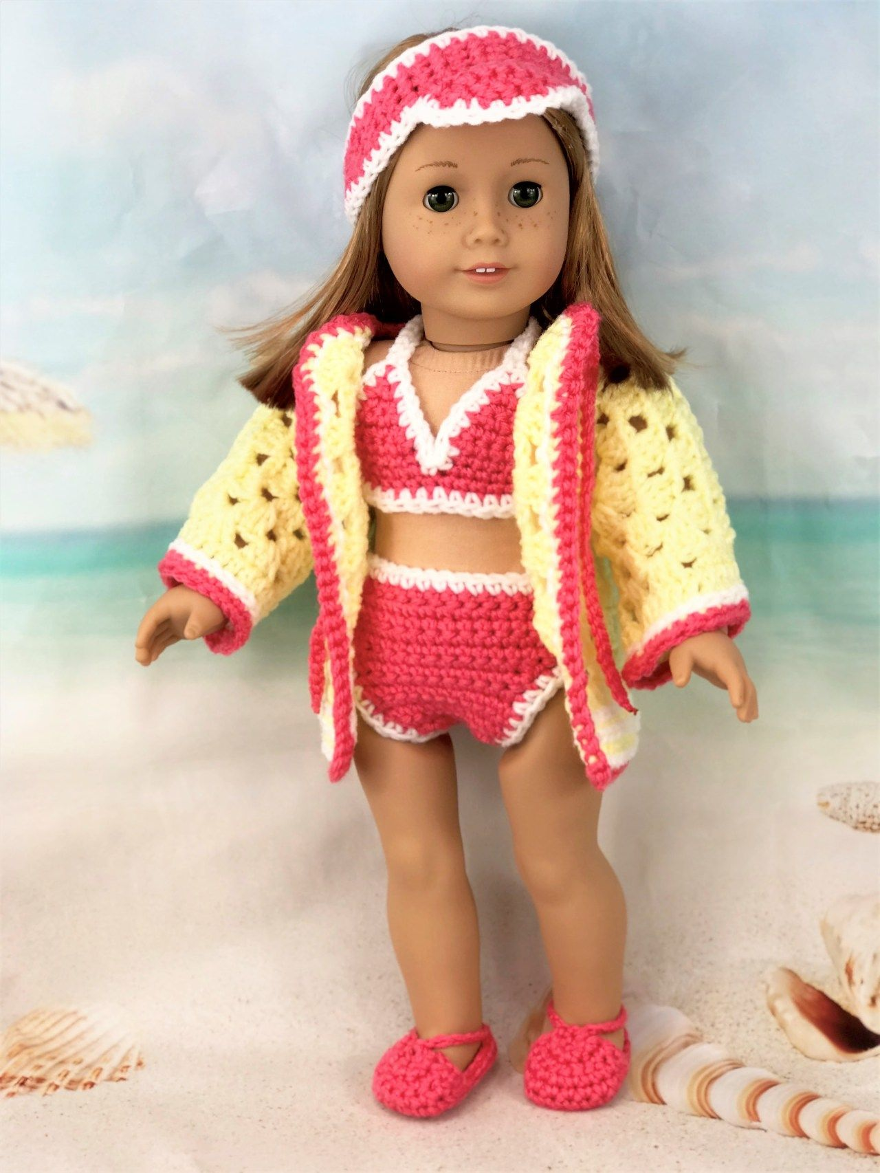 10 inch doll free crochet outfit pattern | Crochet doll clothes ... | 1706x1280