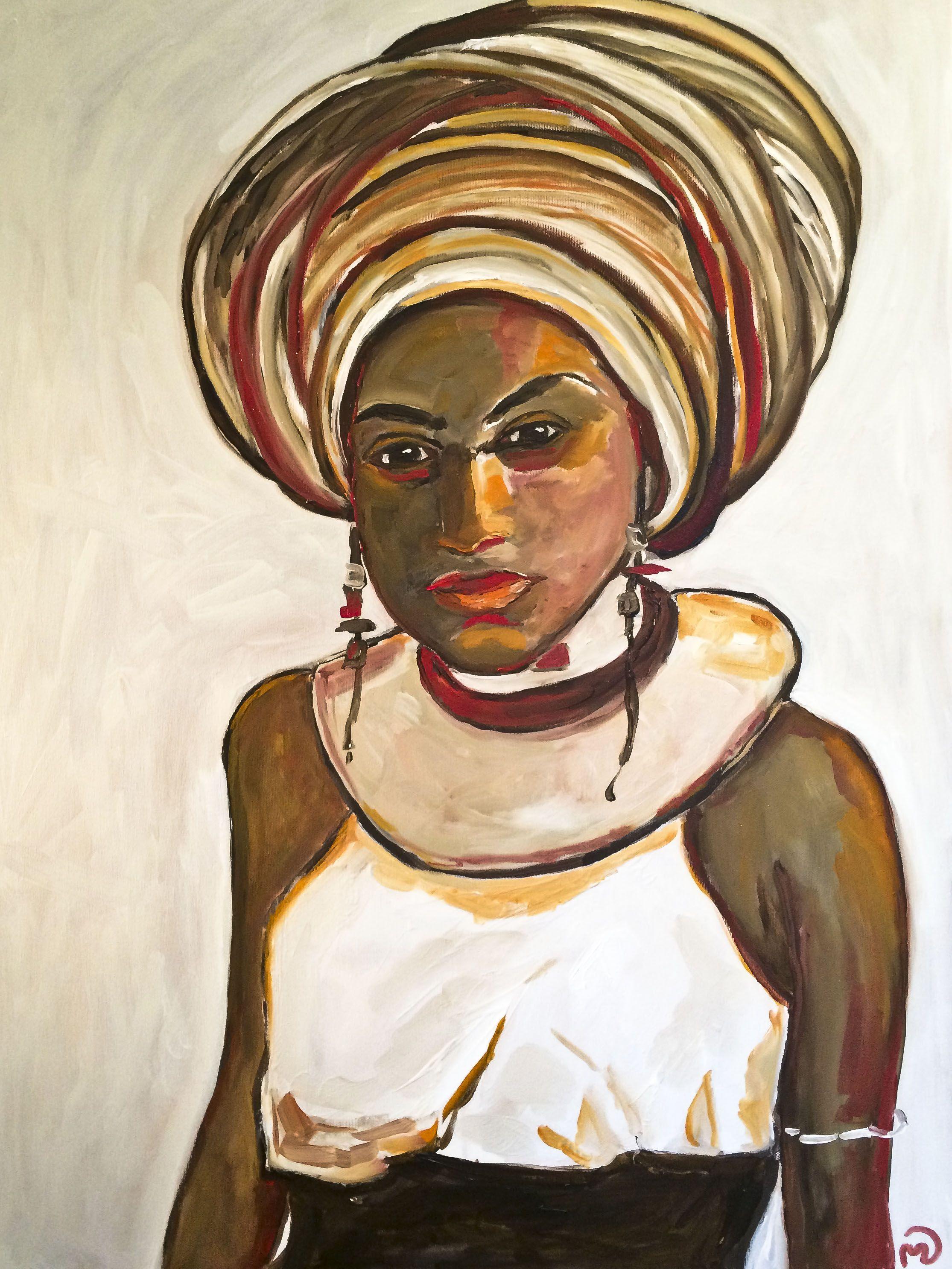 Meisie - oil 60x80cms by Vodegel SOLD #oil #canvas #art #paintings #buy