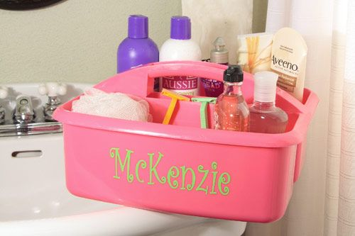 Shower Caddies are so cuute! I cant wait to use mine.Yeahh, I\'m ...