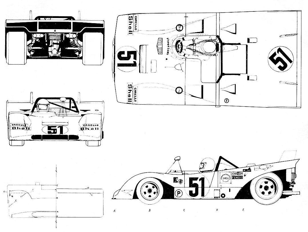 Ferrari 312 Pb Smcars