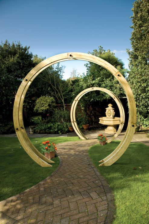 Buy Charlton Flower Circle from our Arches, Arbours & Pergolas range ...