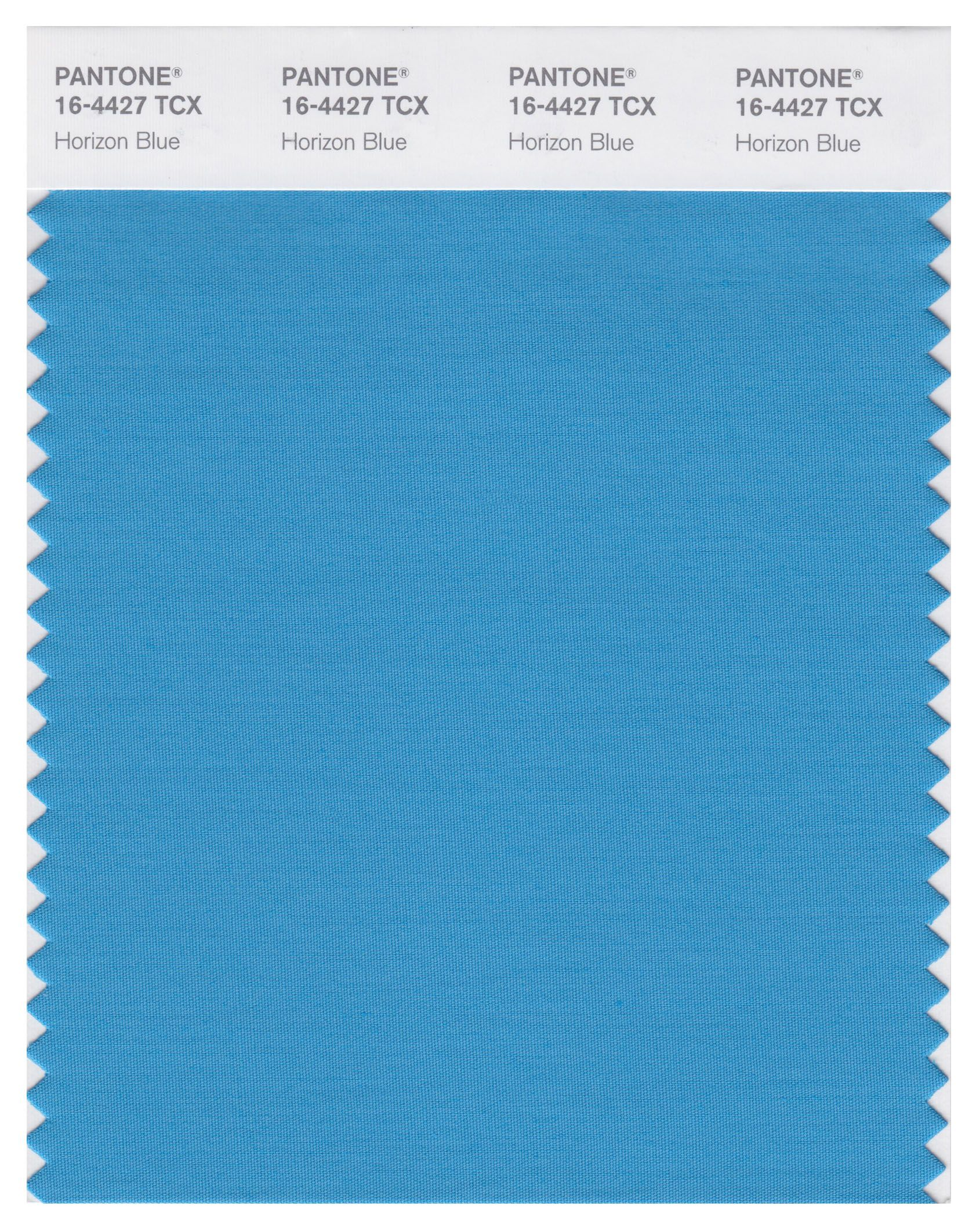 pantone smart 16-4427 tcx color swatch card | horizon blue