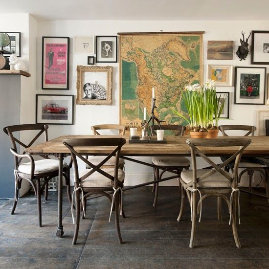 dining + wall of art