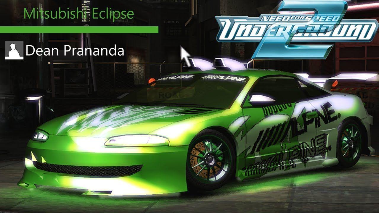 Nfs Underground 2 Mitsubishi Eclipse Tuning Youtube Sub Subs
