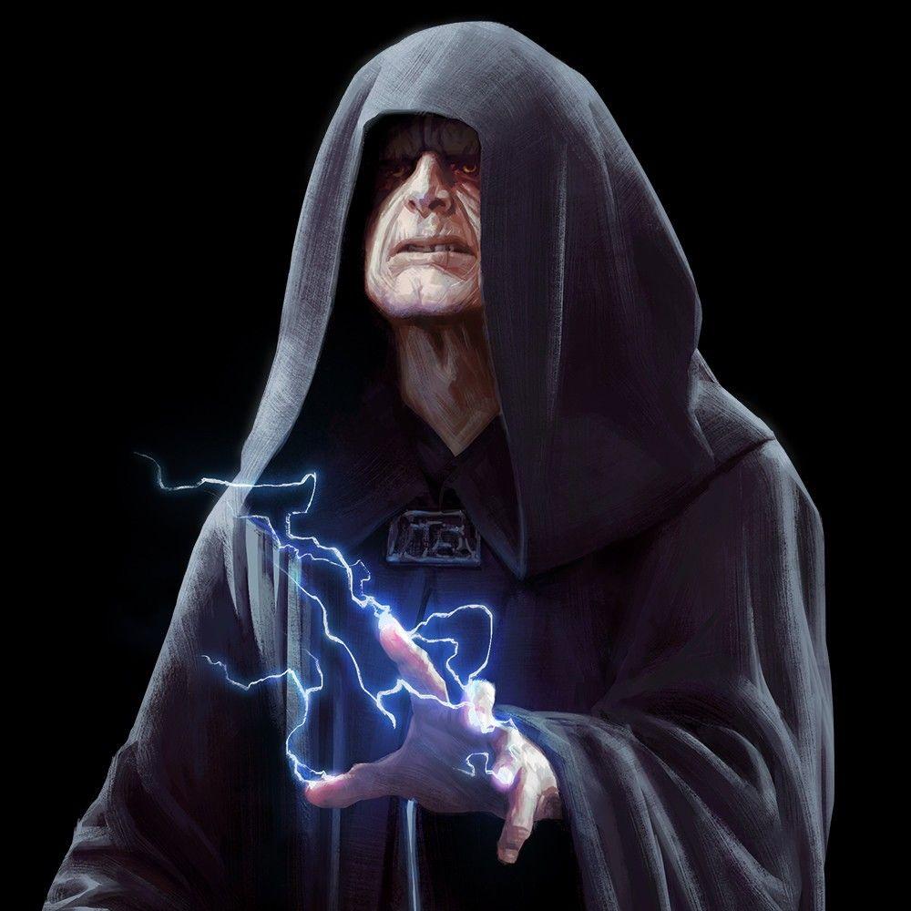 Darth Sidious | Dark side star wars, Star wars cartoon, Star wars