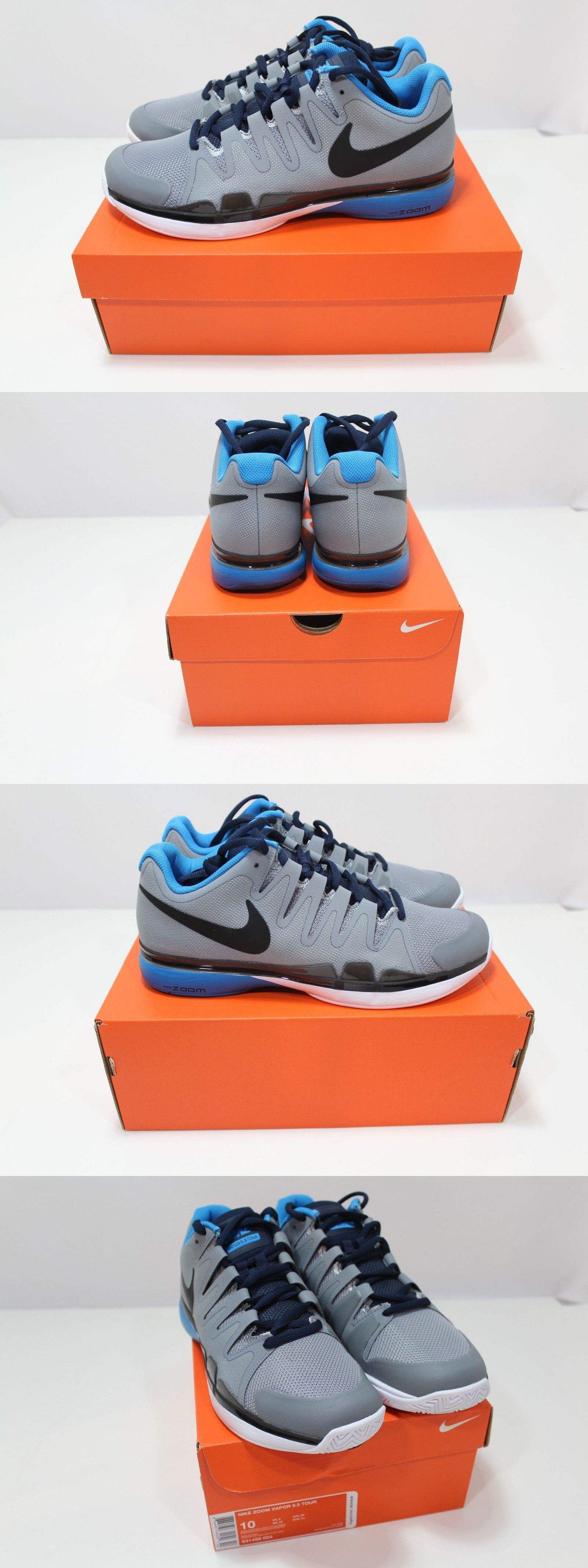 sports shoes d7256 f73ae Shoes 62230  New Men S Zoom Nike Vapor 9.5 Tour Tennis Shoes Size 10 Style