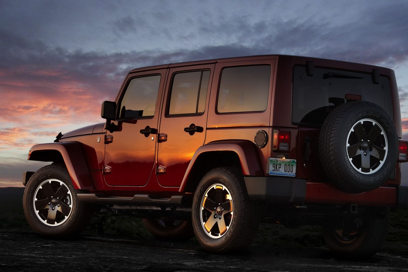 Jeep Unwraps New Limited Edition Wrangler Unlimited Altitude