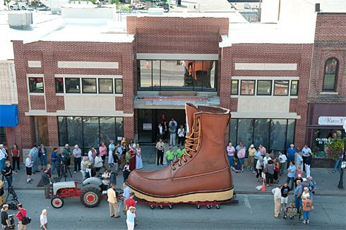 Red Wing Shoe Museum, exploring the history of the Red Wing Shoe ...