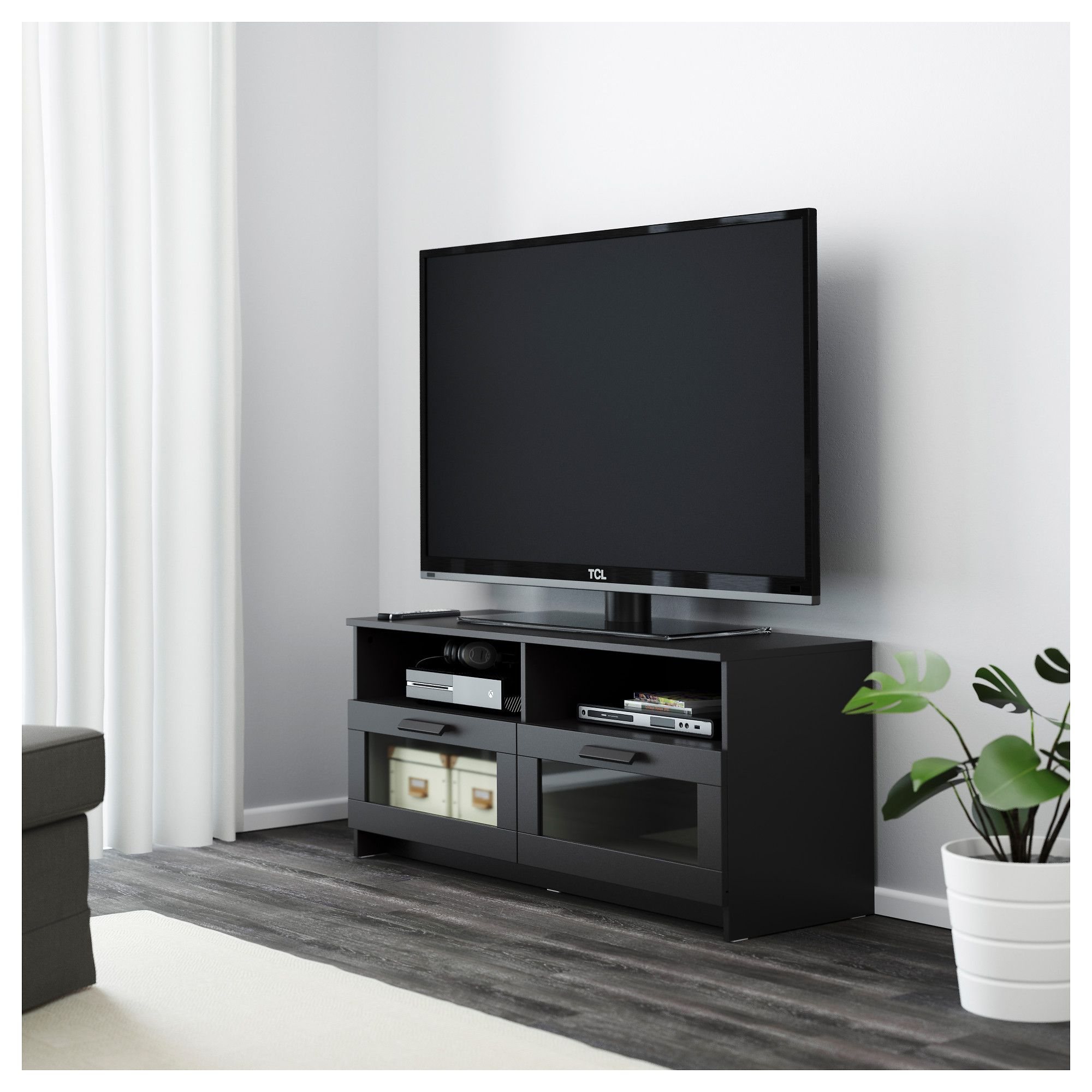 Enjoyable Ikea Brimnes Black Tv Unit In 2019 Tv Bench Ikea Tv Unit Uwap Interior Chair Design Uwaporg