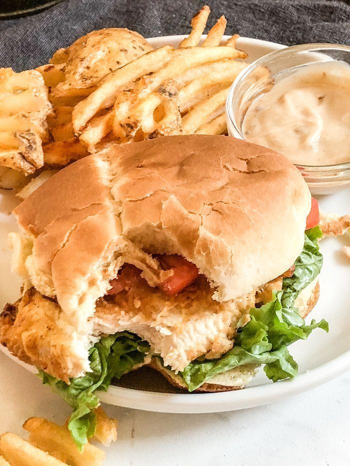 Air Fryer ChikFilA Spicy Chicken Sandwich Spicy