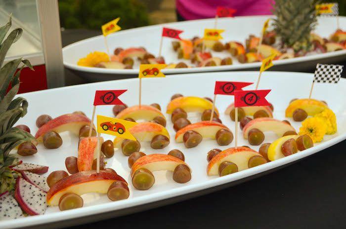 race car themed birthday party with such cute ideas via karas party ideas cake