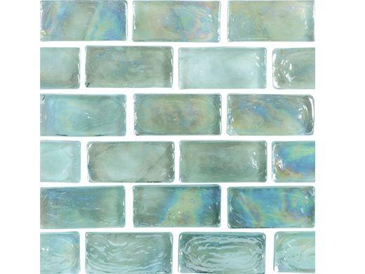 national pool tile arctic 1x2 glass