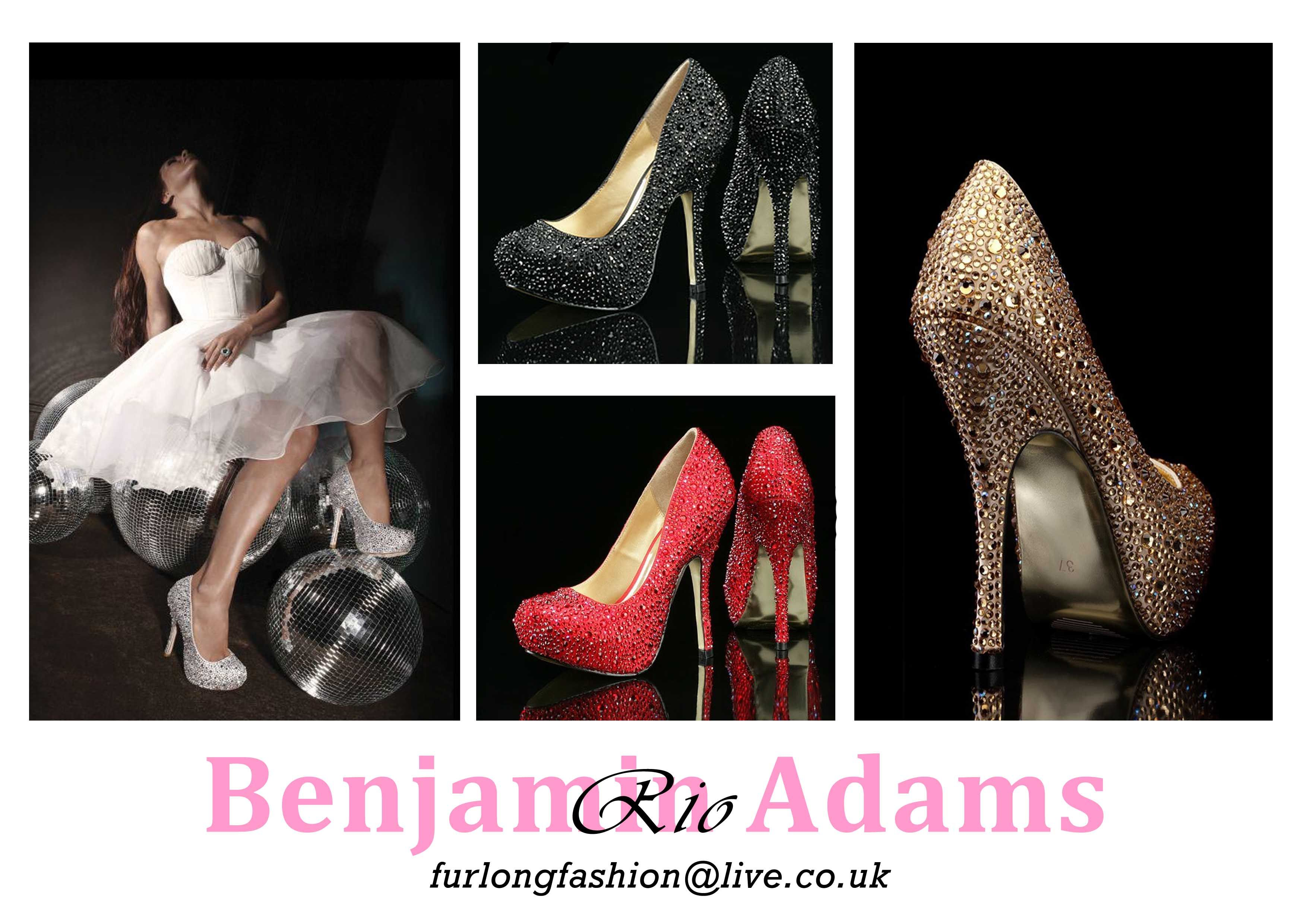 Rio evening shoes are elegant, fashionable and versatile