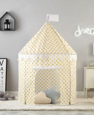 Bright Nordic Style Childrens Indoor Tent Game House 100% Cotton Canvas Princess Castle Play House Toys Boys And Girls Baby Gifts Children Furniture