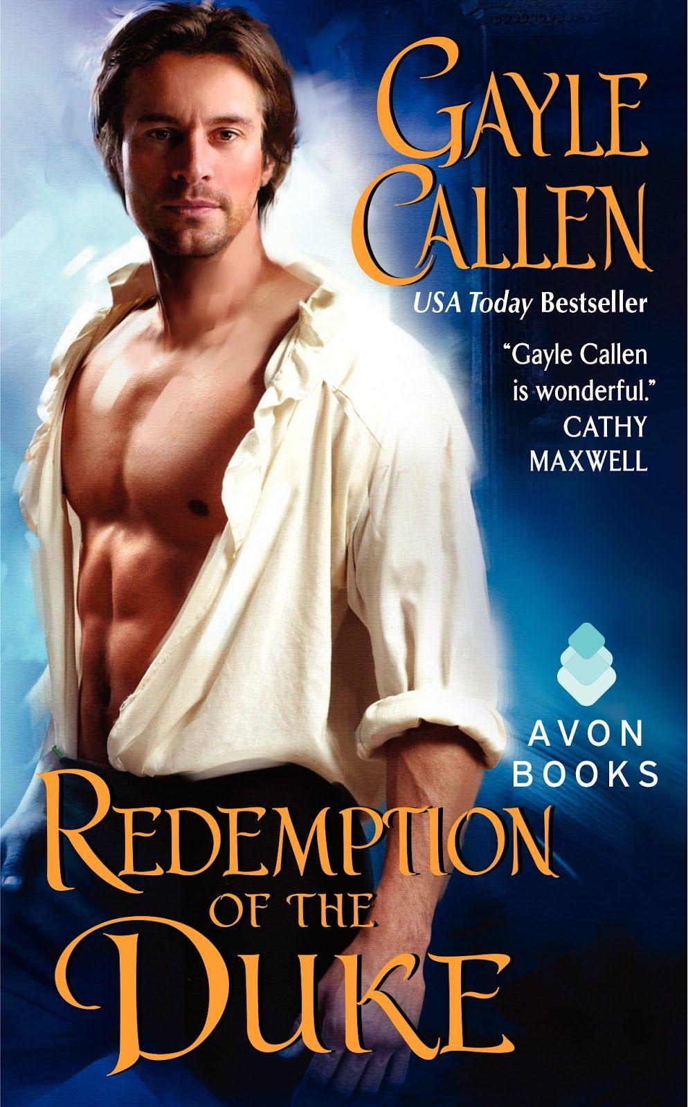 Gayle Callen - Redemption of the Duke /  #awordfromJoJo #HistoricalRomance #GayleCallen