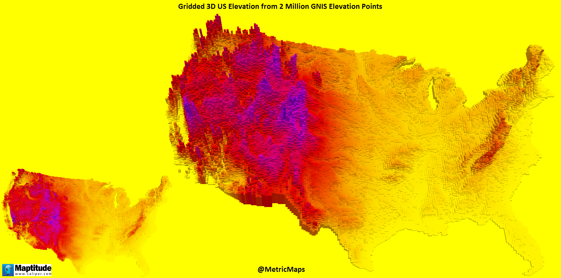 D Unites States Elevation United States Pinterest D D And - Us states by elevation