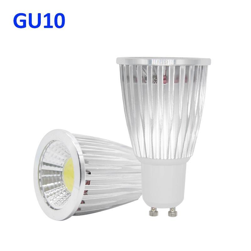Gu10 Cob Lampada Led Spotlight 220v Bombillas Led Lamp Focoe Refletor Ampoule Led Bulb Spot Light 3w 5w 7w Lampara Lampe Luz Led Spotlight Led Bulb Lamp