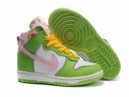 Nike Dunk High GS Strawberry Shortcake Pack Womens Shoes
