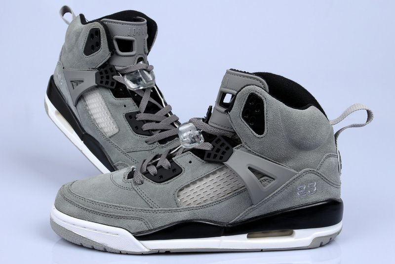 Air Jordan Black And Grey