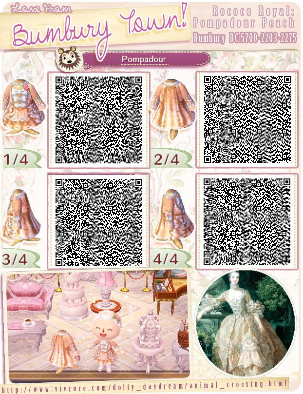 Kleider Qr Codes Animal Crossing New Leaf Animal Crossing Ropa Animales
