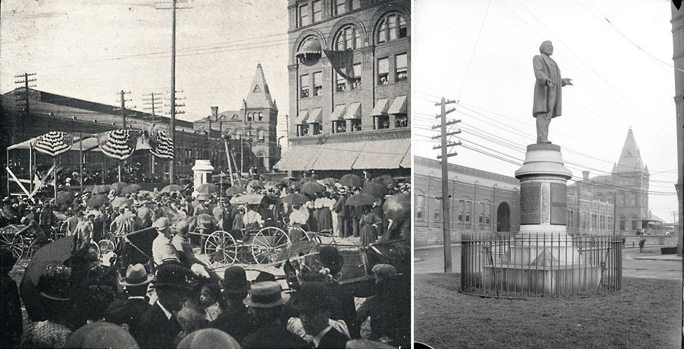 Image result for frederick douglass memorial rochester 1898