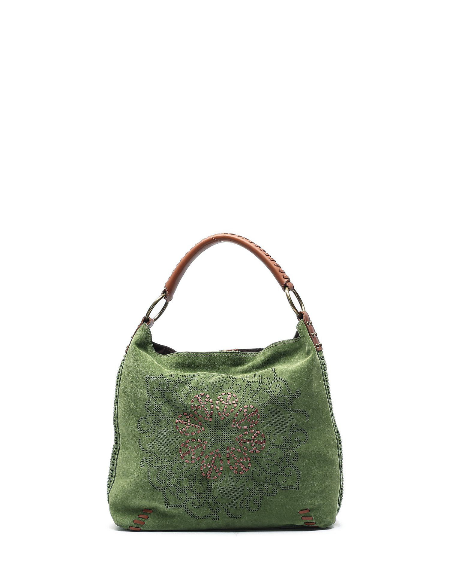 dc79f149ddc Lucky Brand Green Suede Purse