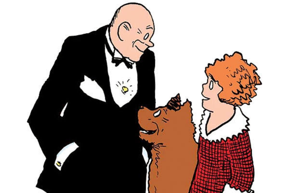 "Little Orphan Annie Best Lines: 1. Oliver ""Daddy"" Warbucks- Orphan Annie Comics $36.2"