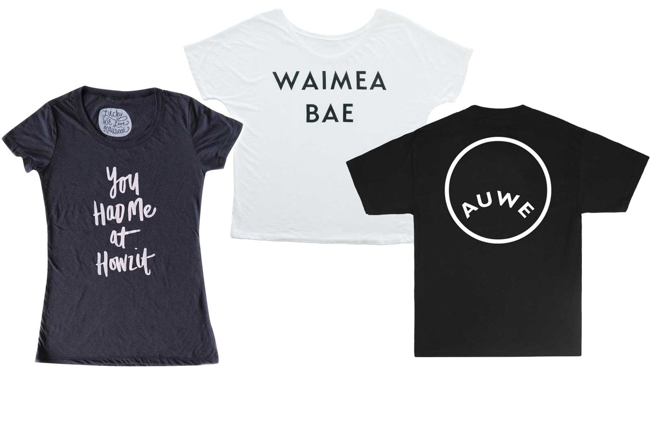 15dbf0971 Local puns abound on these talkative Hawaii shirts | HAWAII Magazine ...
