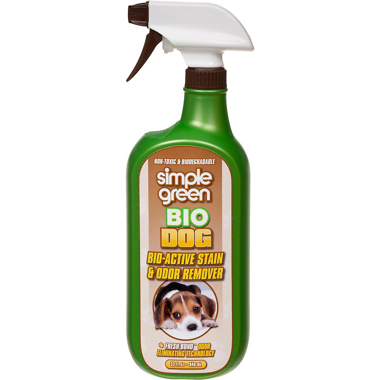 Simple Green Bio Dog Pet Stain & Odor Remover, 32 fl. oz