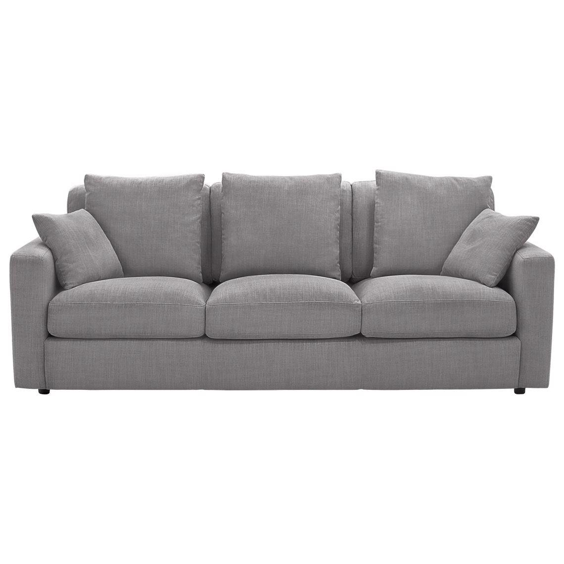 Benson 3 Seat Fabric Sofa Donkey With Images Sofa Fabric Sofa Seating