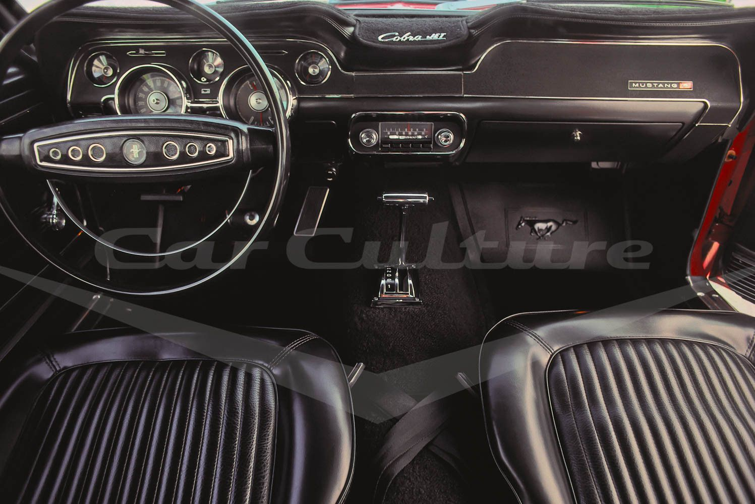 Ford Mustang Cobra Jet 428 Interior   Limited Edition Fine Art Print