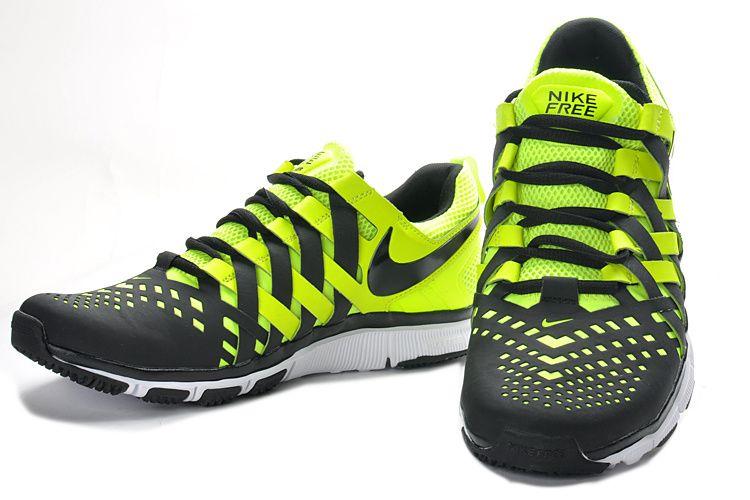 Nike Free Trainer 5.0 uomini a piedi nudi scarpe da corsa Nero Giallo