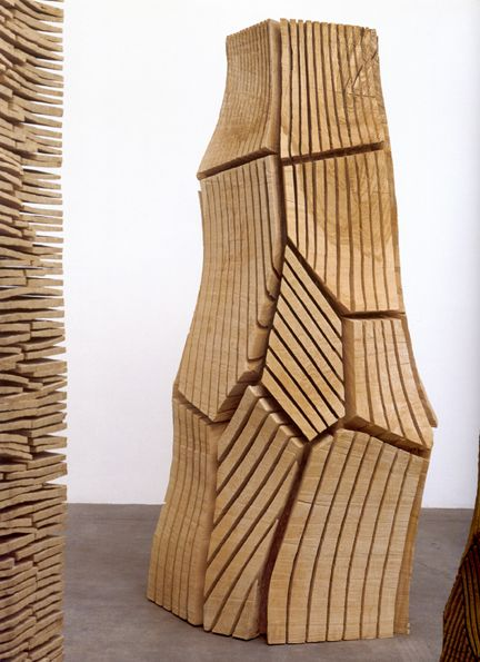 david nash multicut column 2001 ash 241 x 90 x 100 cm. Black Bedroom Furniture Sets. Home Design Ideas