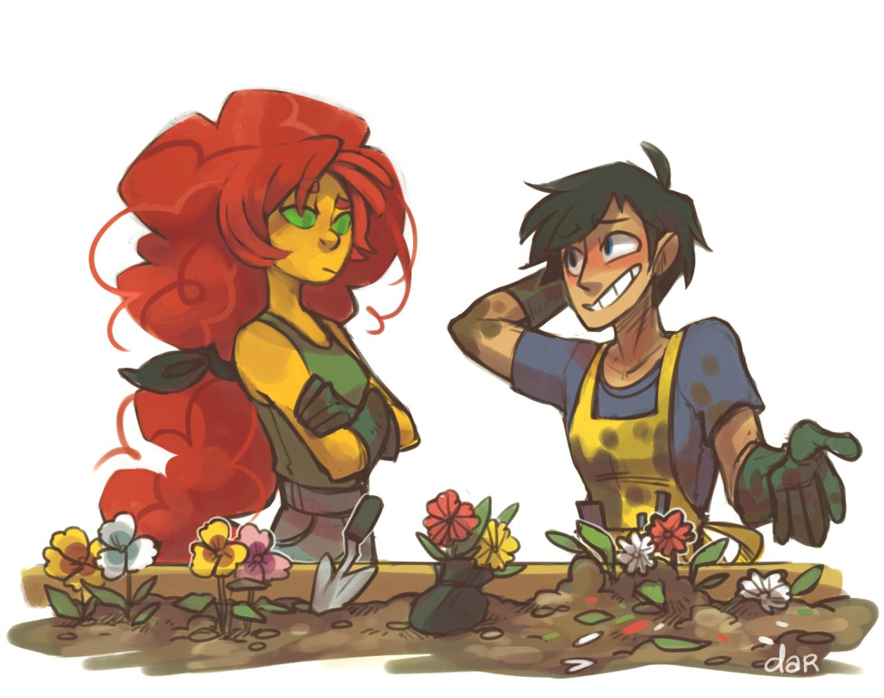 Gardening Lessons - Rad Mangoes  Teen Titans-8476