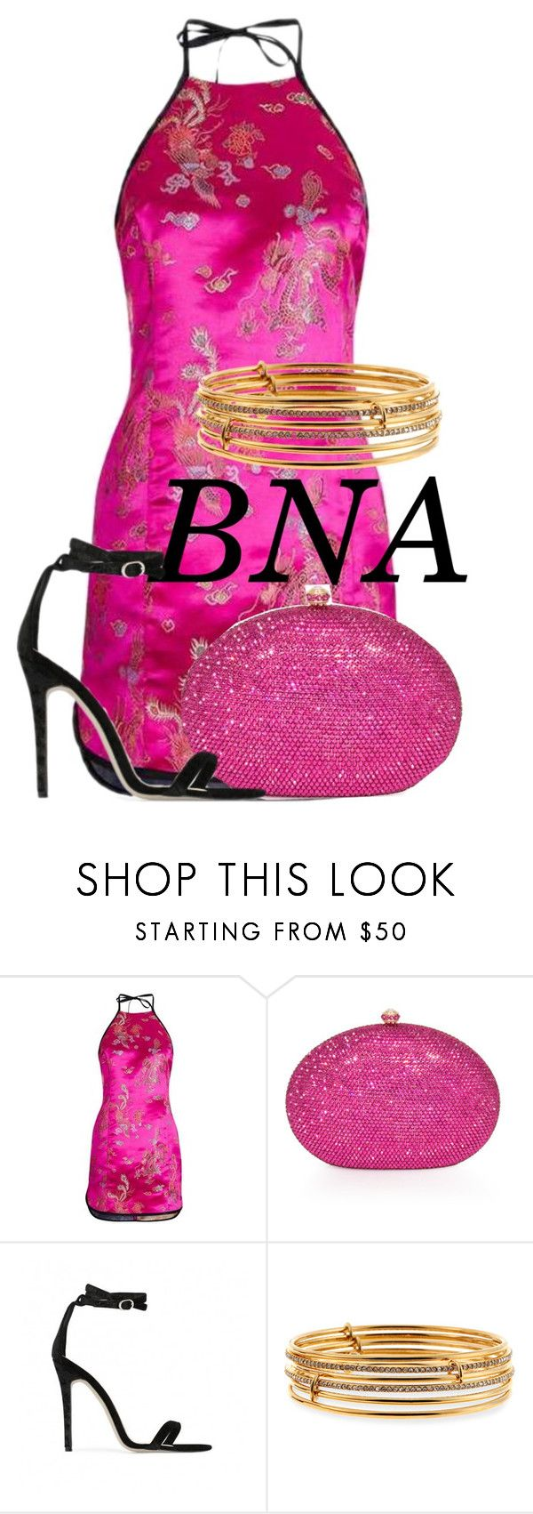 """BNA"" by deborahsauveur ❤ liked on Polyvore featuring Topshop, Dolli, Baldwin and Kate Spade"