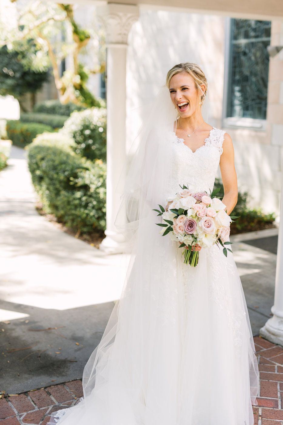 Tampa Weddings Sarasota Wedding Champagne Blush And Gold
