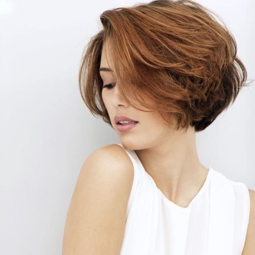 carré court femme Hiukset, mallit Coupe de cheveux