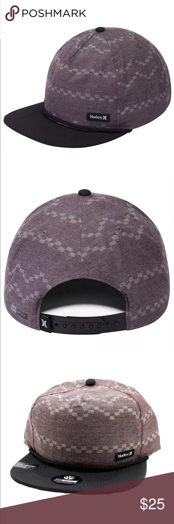 Hurley MEN/'S Dri-Fit Pismo Snapback Hat Cap